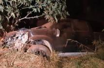 Condutor da caminhonete saiu ileso - Foto: Divulgação PRF