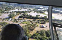 Chuvas intensas e alagamentos atingem municípios do Rio Grande do Sul - Foto: Divulgação/ Defesa Civil Rio Grande do Sul - Reproduzido de Agência Brasil