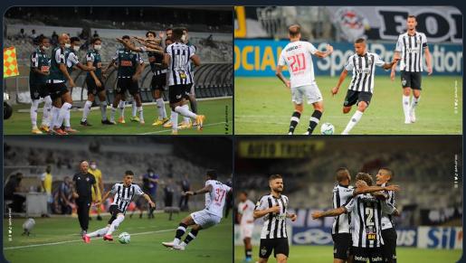 Img: Reprodução/Twiter/ Clube Atlético Mineiro