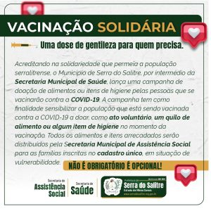 vacinação solidária
